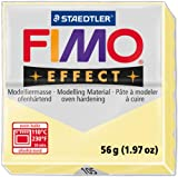Fimo Soft Polymer Clay Staedtler Firm Texture Magnets Jewelry 2 Oz Vanilla