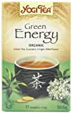 Yogi Tea Green Energy 17 Teabags (Pack of 6, Total 102 Teabags)