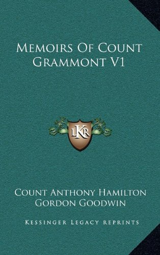 Memoirs of Count Grammont V1