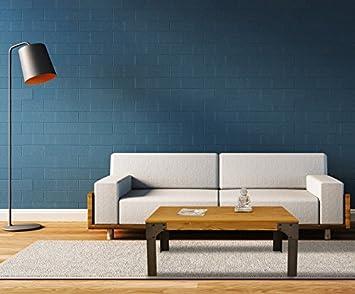 Mesa Centro Boston Industrial 70 x 110 x 51.5cm - LuxoMobel