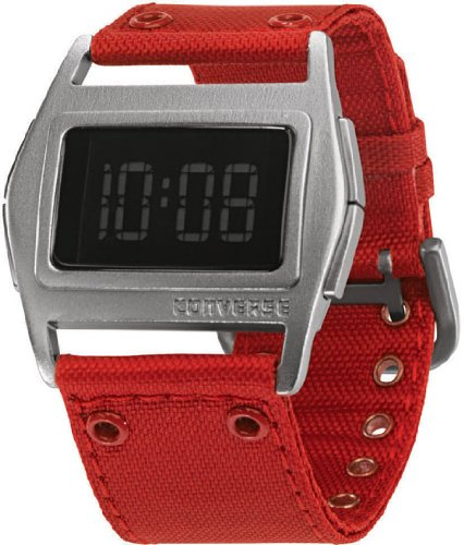 Converse Unisex VR005650 Lowboy Thin Red Aluminum Digital Watch
