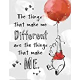 Eureka Winnie the Pooh the Things That Make Me Different Poster