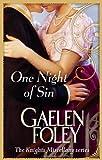One Night of Sin. Gaelen Foley (Knight Miscellany 6)