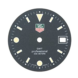 TAG Heuer GMT Professional Black Watch Dial Parts