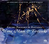 Handel: Water Music & Fireworks (Le Concert Spirituel / Herve Niquet) Le Concert Spirituel