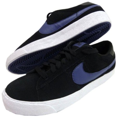 Nike SB Shoes Blazer Low black/blue recall , Größe:40