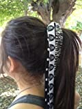 Oakland Raiders Hair Streamer Bow at Amazon.com