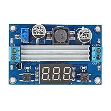 SainSmart Adjustable Boost 3~35V to 3.5~35V 5/12V DC Regulated Power Supply Voltage Converter Module with Digital Voltmeter