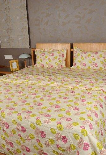 Imagen 2 de Inicio Diseño decorativo Victoria Bed Spread hoja de cama Set With One Quilt y fundas de almohada a juego
