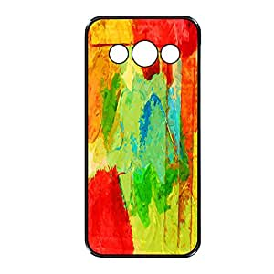 Vibhar printed case back cover for Samsung Galaxy E7 PaintBrush