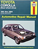 img - for Toyota Corolla (Rear Wheel Drive) Australian Automotive Repair Manual: 1981 to 1984 (Haynes Automotive Repair Manuals) book / textbook / text book