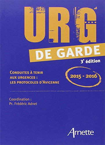 Urg' de garde 2015-2016