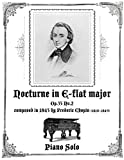 Nocturne in Eb major Op.55 No.2 - Piano Solo
