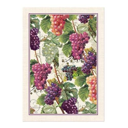 Michel Design Works Woven Cotton Kitchen Towel, Vineyard