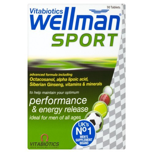 Wellman Vitabiotics Sport Tablets 30 Tablets front-752866