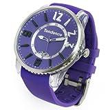 Tendence テンデンス 時計テンデンス TG131002 ( パープル)クオーツ ユニセックス 腕時計 GULLIVER SLIM POP ガリバースリムポップ バーガンディー【TENDENCE  WATCH 時計 とけい トケイ】【並行輸入商品】