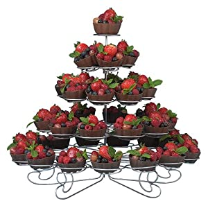 wedding reception decoration ideas, wilton cupcake stand