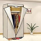 Kawachi Single Door Space Saving Foldable Wardrobe