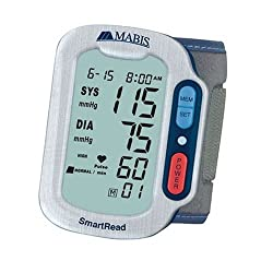 MABIS SmartRead Plus Automatic Wrist Digital Blood Pressure Monitor