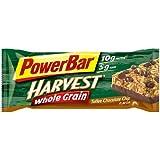 PowerBar Harvest Whole Grain Nutrition Bar- Strawberry Crunch, 15 Bars per Box