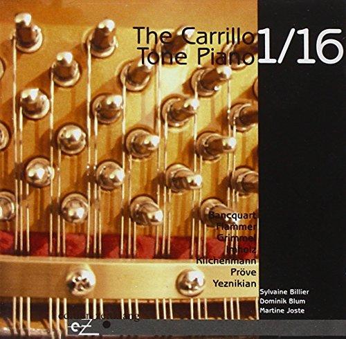 The Carrillo Tone Piano 1/16