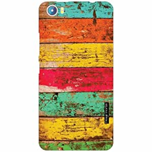 Design Worlds - Micromax Canvas Fire 4 A107 Designer Back Cover Case - Multic...