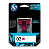 HP 02 C8772WN#140 Ink Cartridge in Retail Packaging-Magenta ~ HP