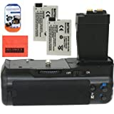 Big Mike'S Battery Grip Kit For Canon Rebel T2I T3I T4I T5I Digital Slr Camera Includes Qty 2 Replacement Lp-E8 Batteries + Vertical Battery Grip + More!!