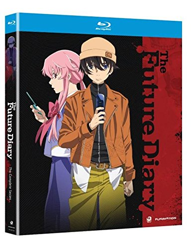 The Future Diary Complete Series Mirai Nikki Bluray Region Code