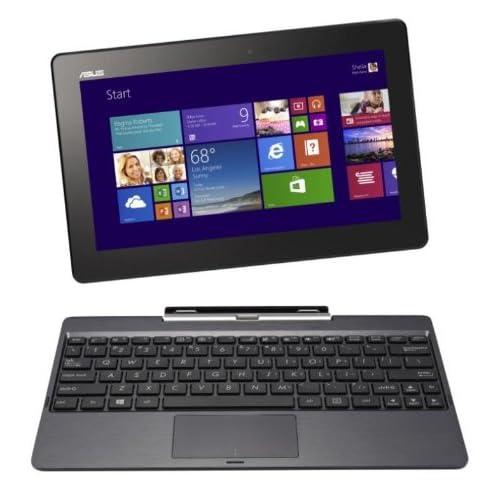 ASUS T100TAシリーズ NB / gray ( WIN8.1 32bit / 10.1inch HD touch / Z3740 / 2G / 32G / JISキーボード ) T100TA-DK32G