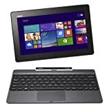 ASUS T100TAシリーズ NB / gray ( WIN8.1 32bit / 10.1inch touch / Z3740 / 2G / 32G + 500GB / Home&Biz / JISキーボード ) T100TA-DK532GS