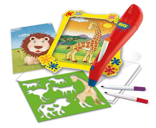Clementoni 15836 art attack spray art kit di pittura for Aerografo crayola amazon