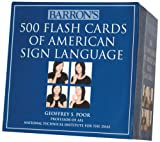 img - for Barron's 500 Flash Cards of American Sign Language book / textbook / text book
