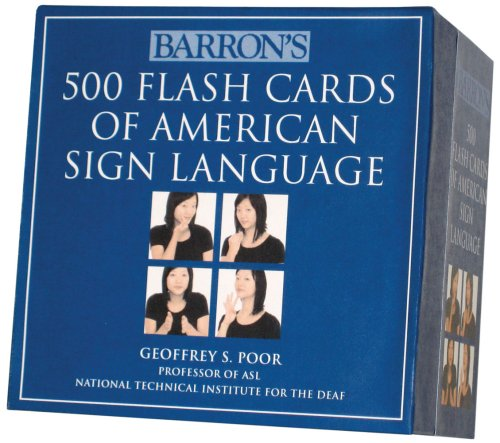 Eloquent image for printable sign language flash cards
