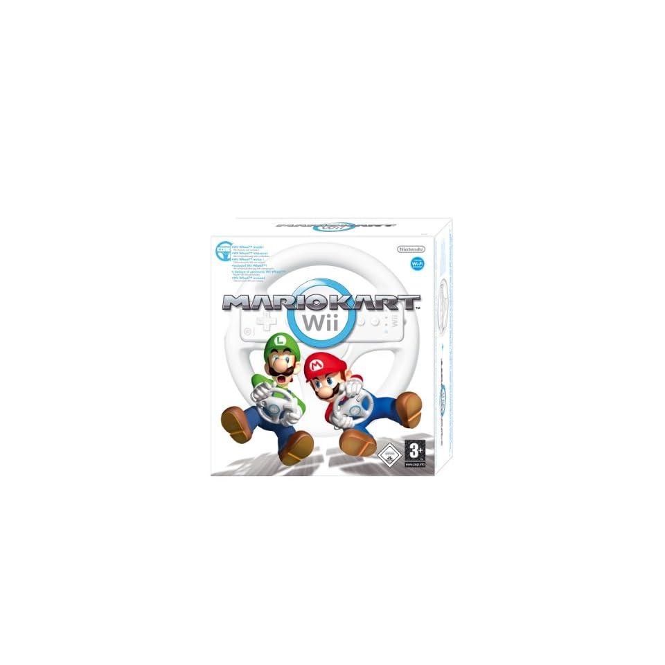 Mario Kart Wii inkl. Lenkrad Games