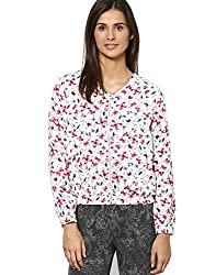 Vero Moda Women's Casual Jacket (_5712411950595_Snow White_X-Small_)