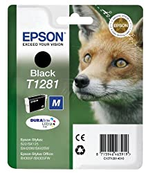 Epson C13T12814011 - Cartucho de tinta, 170 páginas/5.9 ml, Negro