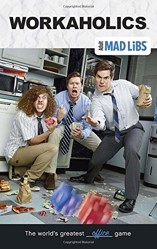 Workaholics Mad Libs (Adult Mad Libs), Buch