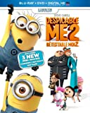 Despicable Me 2 [Blu-ray + DVD + UltraViolet Copy] (Bilingual)