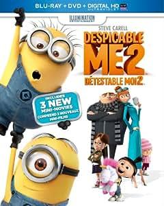 Despicable Me 2 [Blu-ray + DVD + UltraViolet Copy] (Bilingual)