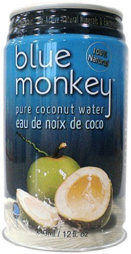 Blue Monkey 100% Natural Coconut Water, 11.2oz