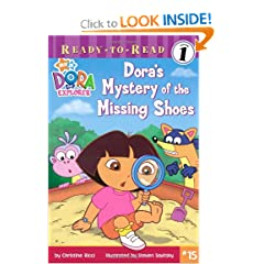 Dora's Mystery of the Missing Shoes (Ready-To-Read Dora the Explorer