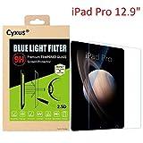 Cyxusブルーレイ止め 青色光防止 HD Retina 9H硬度強化ガラス液晶保護フィルム 簡単取付 Apple iPad Pro 12.9インチ 用 Cyxus(シクサズ) JP-025