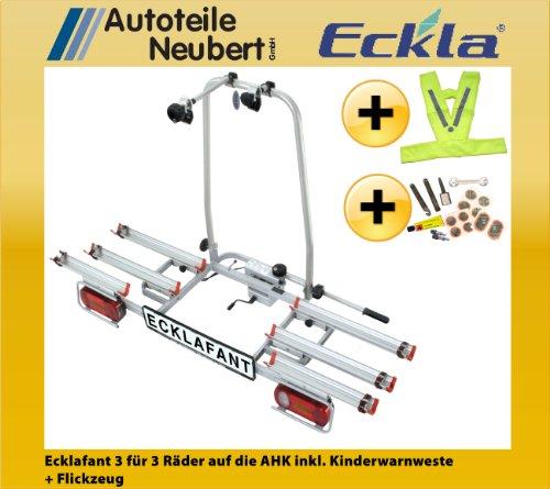 Fahrradträger ECKLA Ecklafant 3 für die AHK