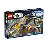 LEGO Star Wars 3 in 1 Super Pack Collection (Included: 7877+7929+7913)
