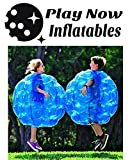 """(2-Pack) Wearable Inflatable Bumper Balls 36"""" - Bubble Soccer Suits- Set of Two (2) Balls - For Kids or Small Adults - Blow Up Toy in 5 Min. Boy Girl Outdoor Game"""