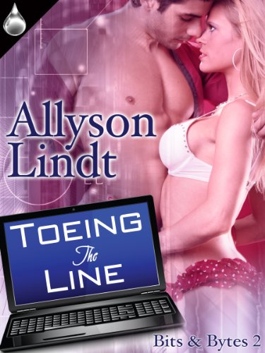 Toeing the Line (Bits & Bytes, Book 2) by Allyson Lindt
