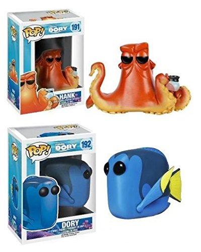 Funko POP! Finding Dory: Dory + Hank - Disney Pixar Vinyl Figure Set NEW