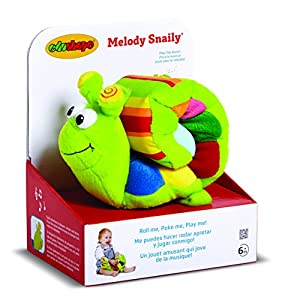 Edushape Melody Snaily Soft Electronic Musical Toy