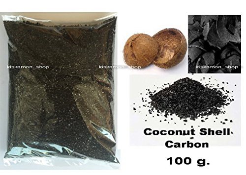100g.Pure Virgin Coconut Shell Bulk Activated Charcoal(Activated Carbon)Granules /ITEM#HGO-IW 73ET210352 (Virgin Carbon Bulk compare prices)